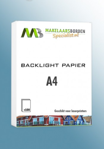 Backlight papier A4 (100 vel)
