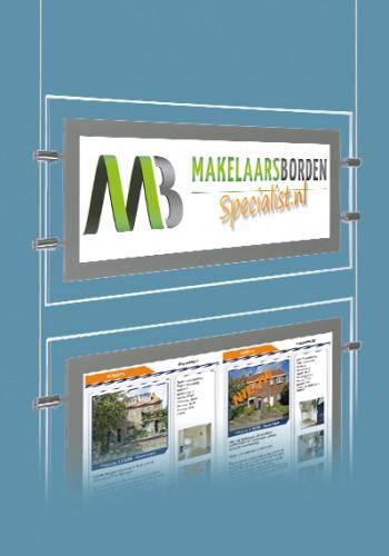 Logobord LED raamdisplay DELIGHT