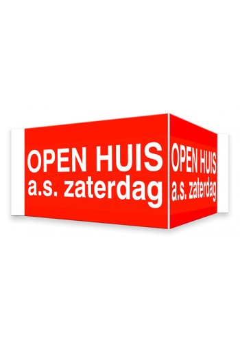 OPEN HUIS V-bord a.s. zaterdag met tape