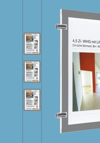 LED raamdisplays A4