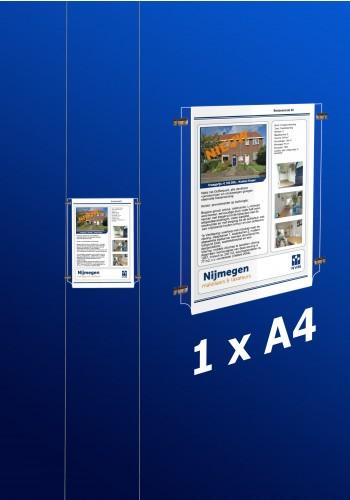 raampresentatie - raamdisplay 1 x a4