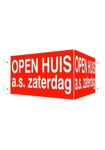 Open Huis V-bord a.s. zaterdag met zuignappen