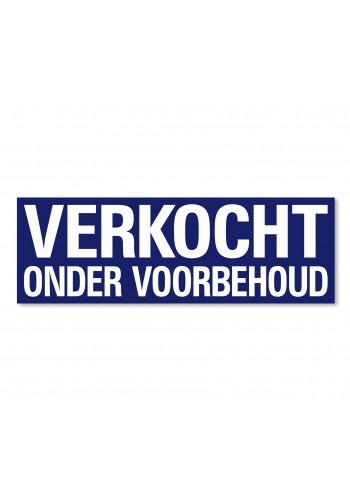 Sticker ultra removable VERKOCHT ONDER VOORBEHOUD