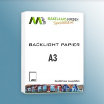 backlight papier A3 (100 vel)