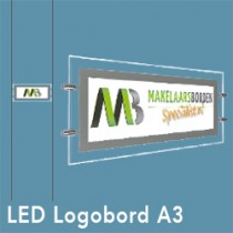 Logobord LED raamdisplay DELIGHT