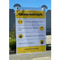 Informatiebordje Corona A4