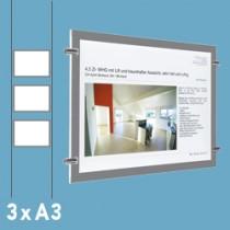 PRESTIGE LED raamdisplays A3