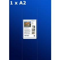 raampresentatie - raamdisplay 1 x a2