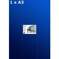 Raampresentatie 1 x A3