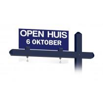 Bovenbord OPEN HUIS met datum (blauw)